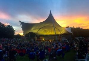 Eddie Arnold Amphitheater at Sundown